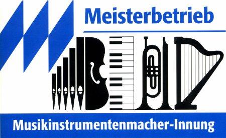 Logo Meisterbetrieb - Musikinstrumentenmacher Innung